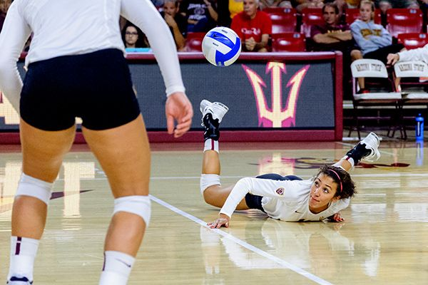 ASU Volleyball vs Iowa, Sept. 7th 2014