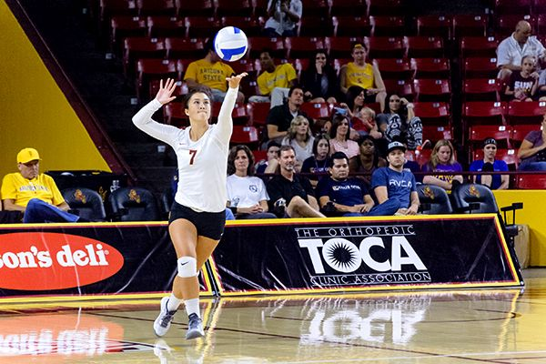 ASU Volleyball vs Colorado State, Sept. 19th, 2014