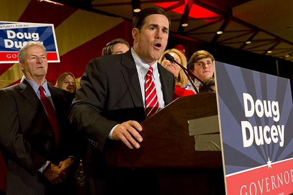Doug Ducey- election