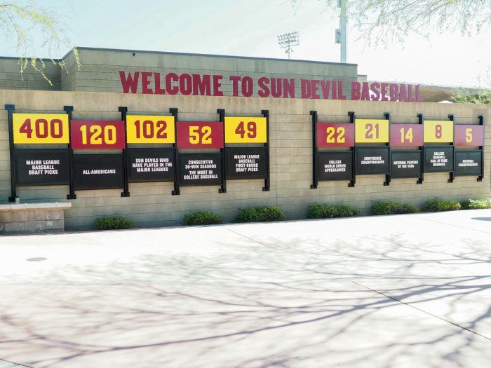 Phoenix Municipal Stadium plaza