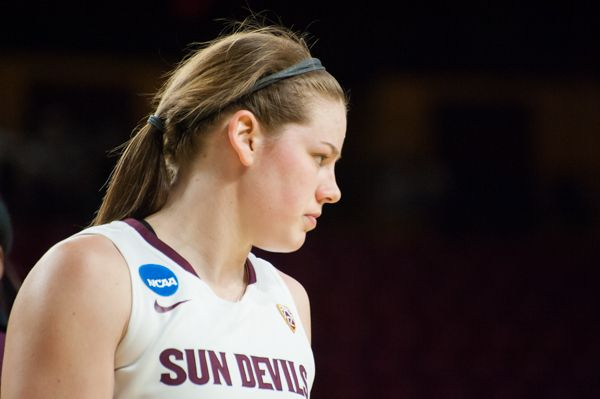 ASU women's basketball Sophie Brunner