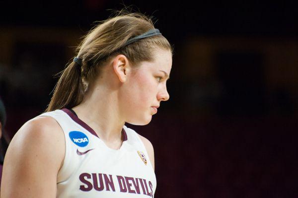ASU women's basketball Sophie Brunner