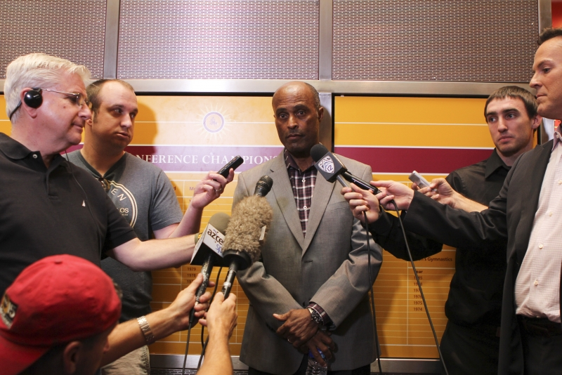 Ray Anderson- Sendek fired press conference