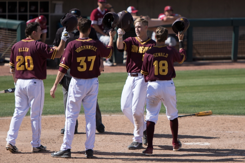 Lilek, Serven propel No. 6 ASU baseball to 14-6 win over Stanford