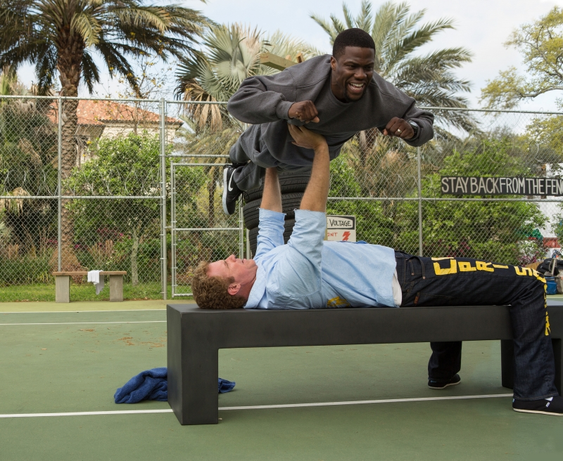 Kevin Hart, Will Ferrell in Get Hard