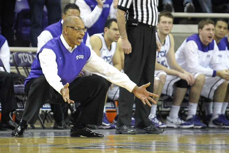 TCU Trent Johnson coach column