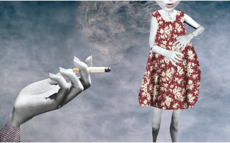 Smoking illustration