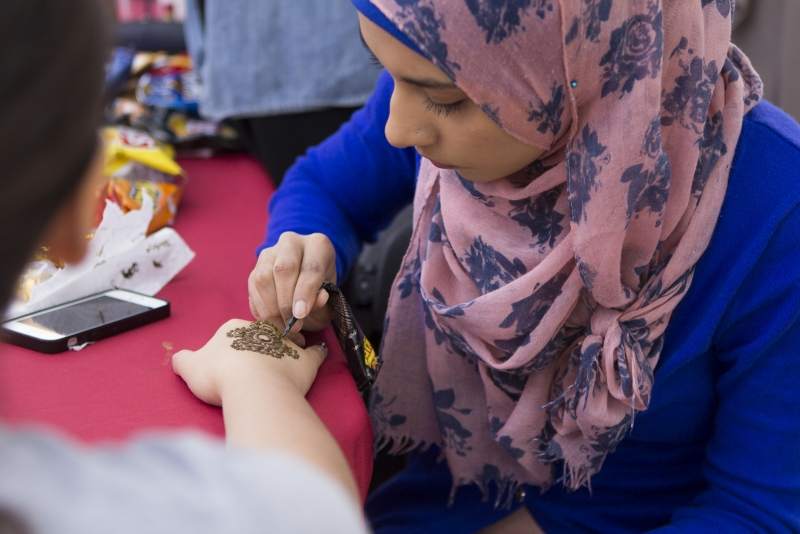 Islamic awareness month- henna tattoos