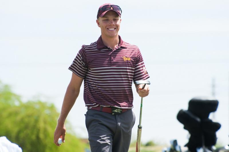 ASU men's golf earns top seed at San Diego regional