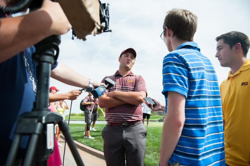 Men's golf Jon Rahm interview