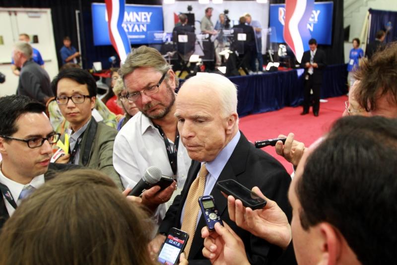 John McCain re-election
