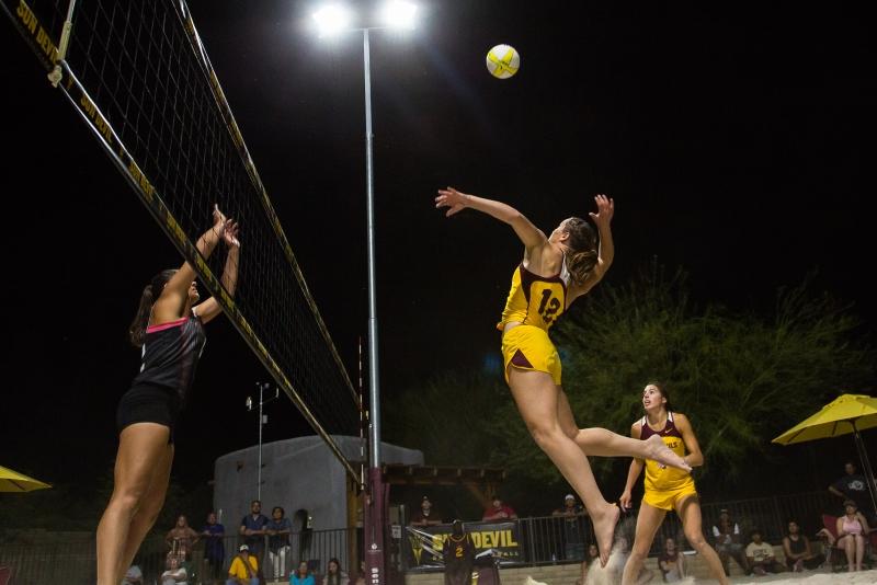 Sand volleyball- Macey Gardner Bianca Arrellano