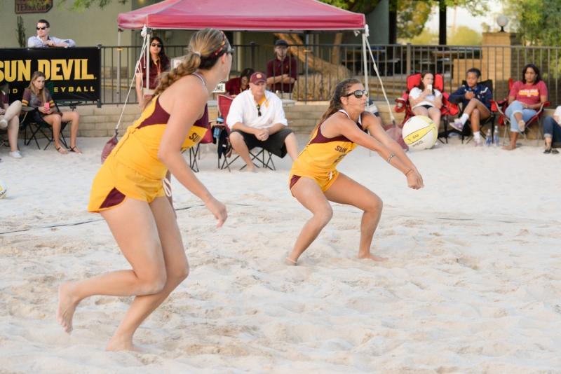 Jordy Checkal Bethany Jorgensen- sand volleyball