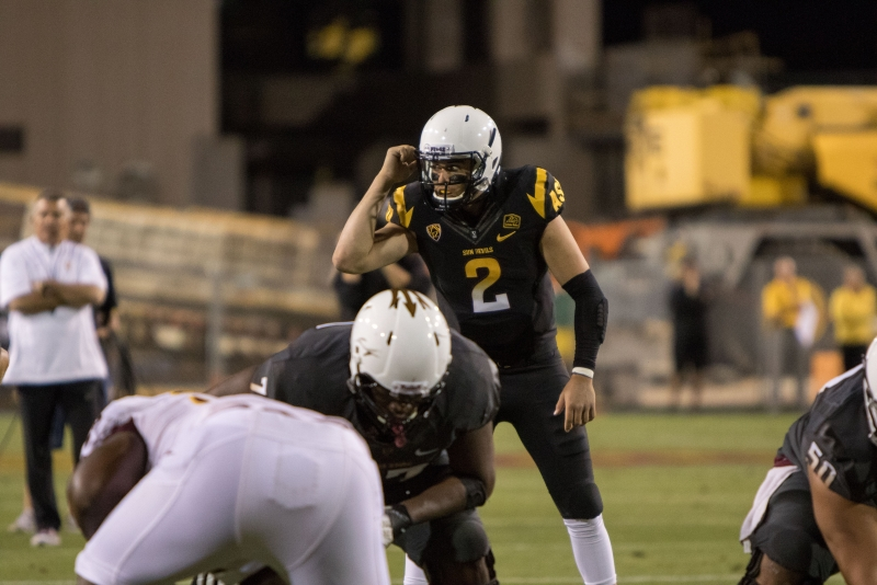 Mike Bercovici football spring