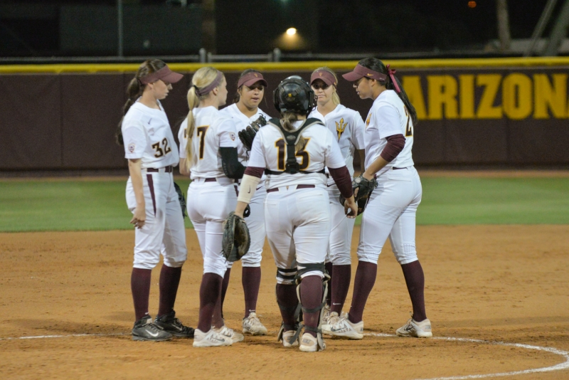 asu softball infielders