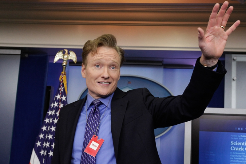 Conan White House Correspondents Association