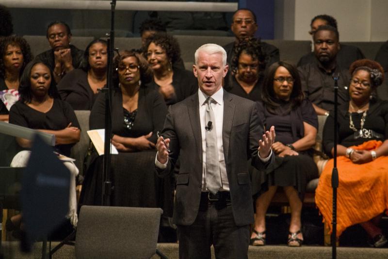 Anderson Cooper Delivering Democracy