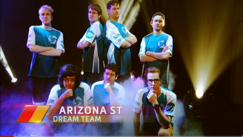 eSports ASU Dream Team Heroes of the Dorm