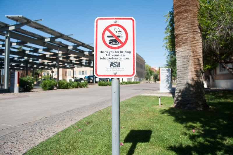 ASU to crack down on tobacco-free policy