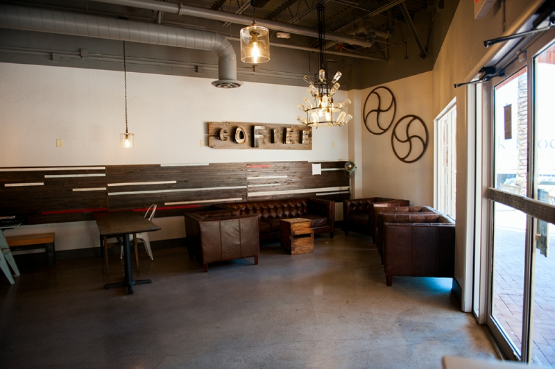 Hazelrock Coffee interior