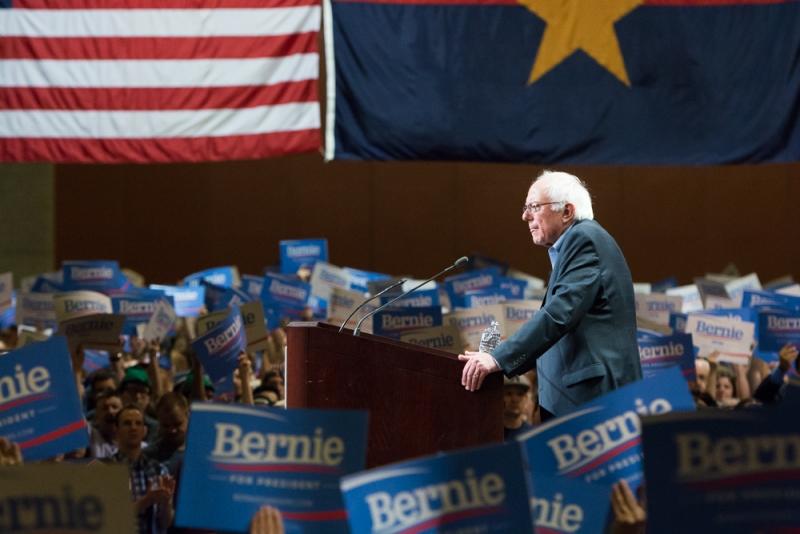Bernie Sanders rally 001