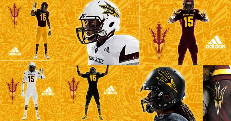 ASU football uni sets large