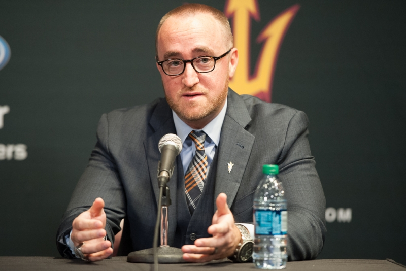 ASU hockey Coyotes press conference 3