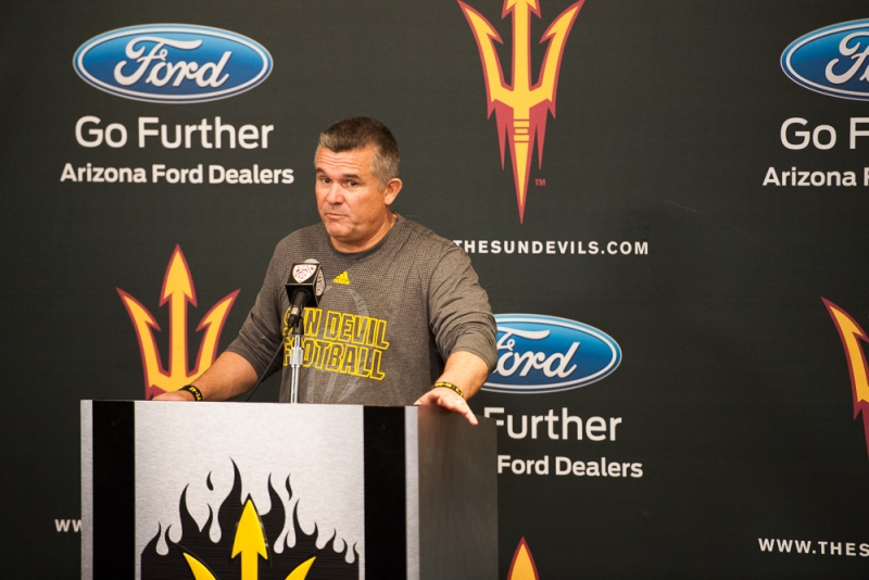Football media day 005 Todd Graham