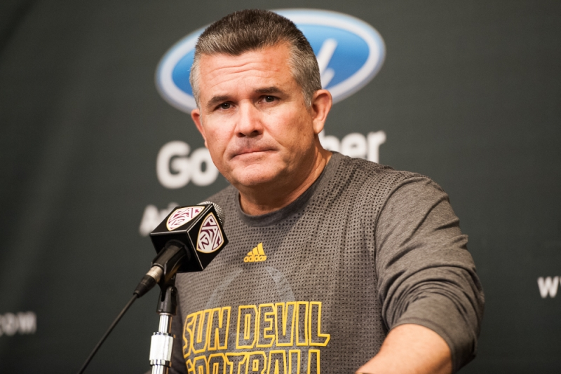 Football media day 006 Todd Graham