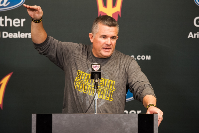 Football media day 008 Todd Graham