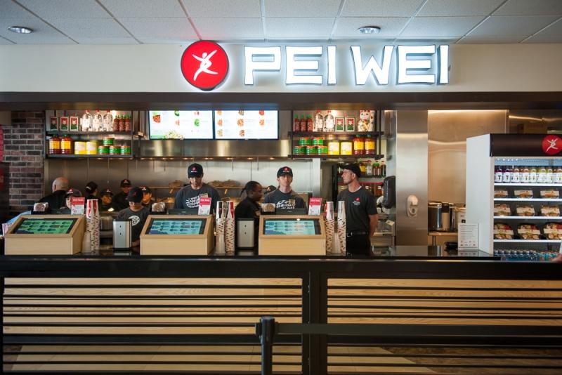Pei Wei grand opening 1