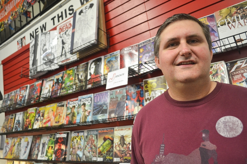 ASU alumnus finds success in Glendale with Drawn to Comics