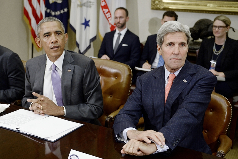 Obama Kerry Nuclear Deal