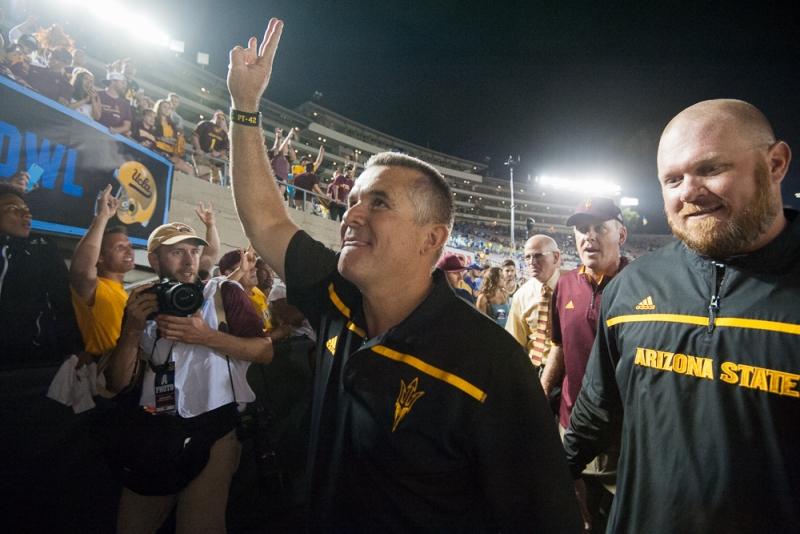 ASU football coach Todd Graham: Sun Devils 'still alive' following upset win