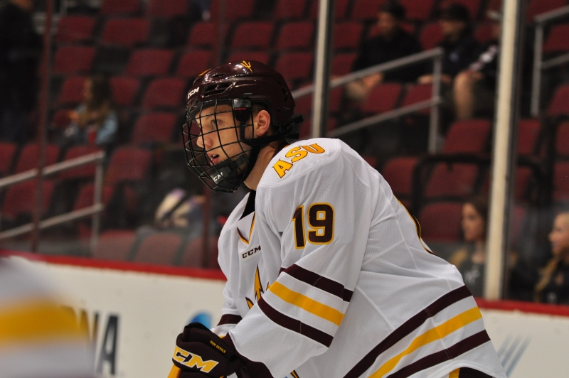 ASU Hockey Game One Matt Kennedy