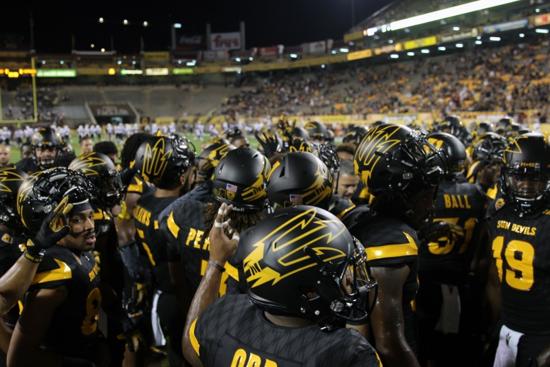 ASU vs. Colorado team