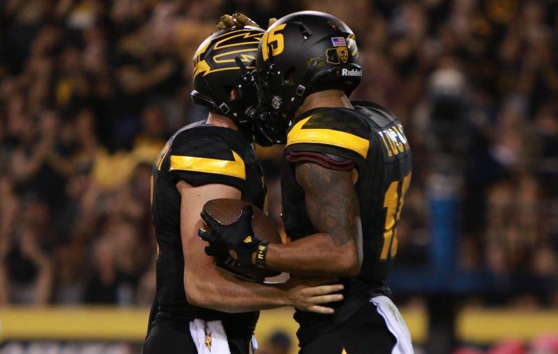 Bounces fall ASU football's way in 48-23 win over Colorado
